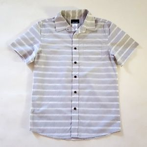 Basic Editions  Boys' Button-Front Shirt